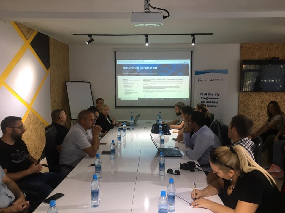 Kosovska Fondacija za Civilno Društvo-poziv za projektne grantove