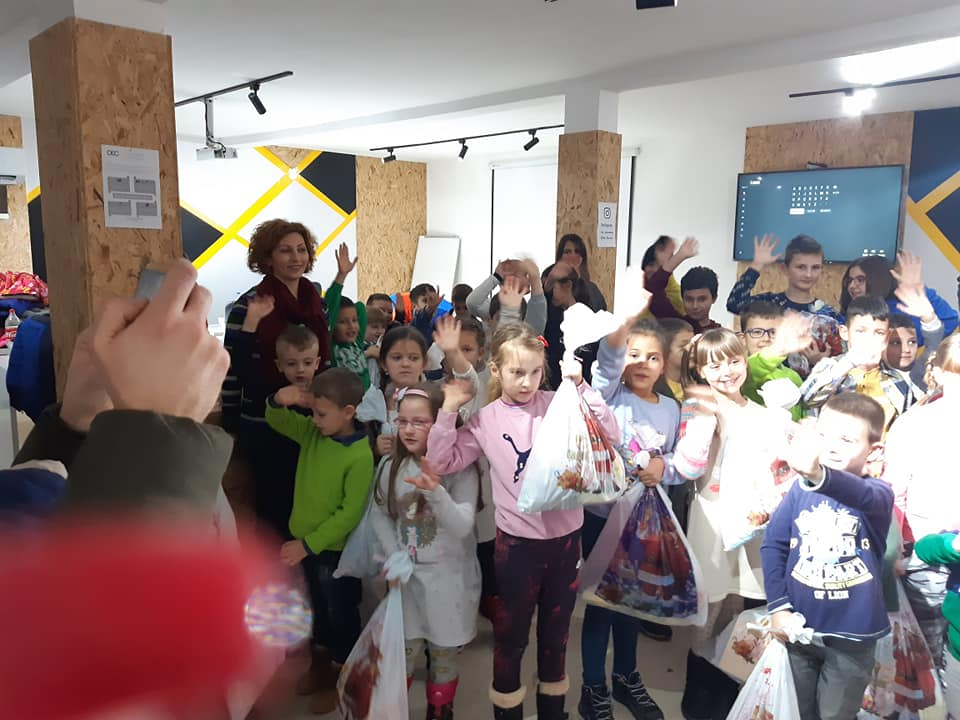 FDMC i Litera organizovali su dečiju žurku