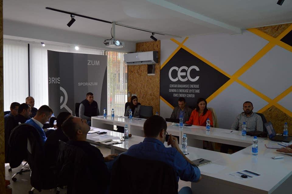 Centar za mir i toleranciju danas je održao prvu obuku opštinskim službenicima