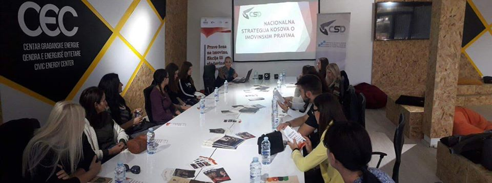 Komunikacija za razvoj društva-CSD odrzala je debatu o imovinsko pravnim pitanjima žena