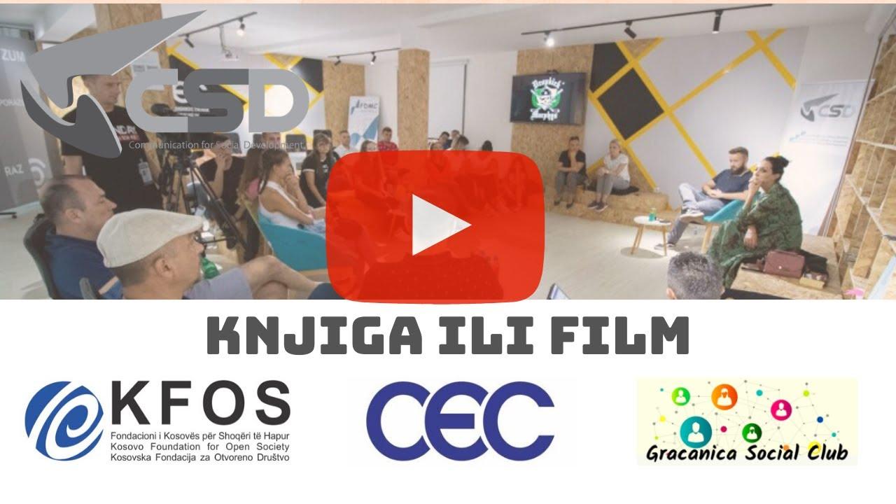 CSD – Knjiga ili Film (Centar građanske energije – CEC)