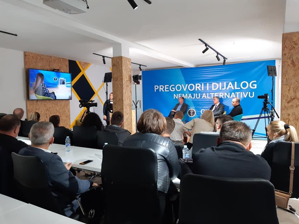 """NVO GYI TV debata na temu""""Briselski dijalog osam godina posle"""""""