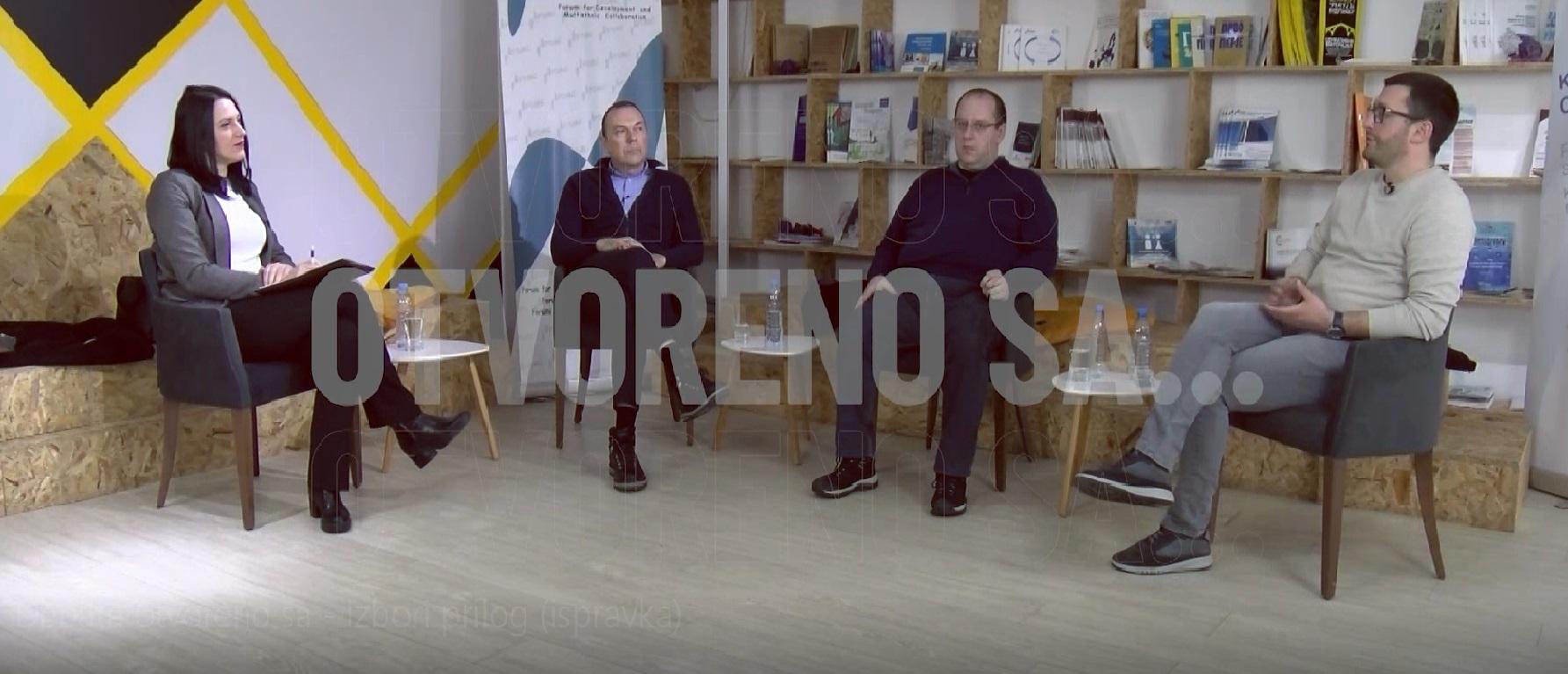 """Otvoreno sa … """" Postizborna očekivanja srpske zajednice na Kosovu """""""